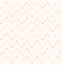 peach square zig zag pattern seamless background vector image