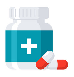 pharmaceutical drugs icon vector image