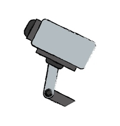 Surveillance security camera vector