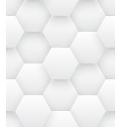 Technologic 3d hexagons bright abstract seamless vector