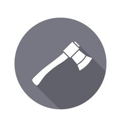 Tool icon Axe hache instrument Work job vector