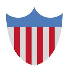 Usa badge roadsign vector