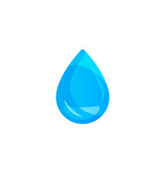 water drop on light background transparency only vector image
