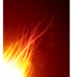 fire glow28 vector image