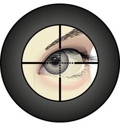 sharpshooter vector image