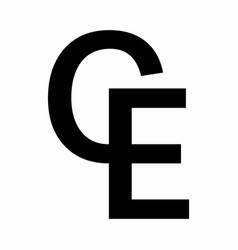 Euro-currency symbol vector