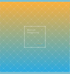 gradient orange and deep sky blue colored vector image