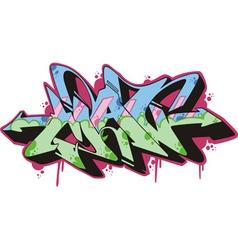 Graffito - man vector