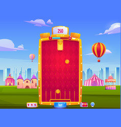 Mobile game app background application interface vector