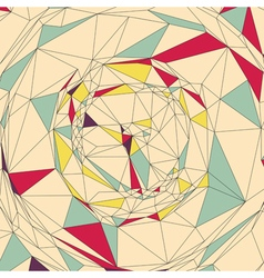 Mosaic Abstract Background Polygonal vector