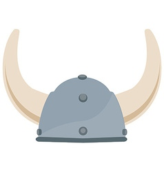 Viking hat vector image