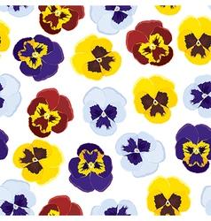 viola pattern vector image