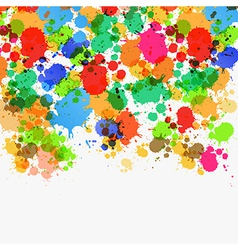 Abstract Splashes Background vector image vector image