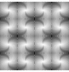 Design seamless uncolored stripe diagonal pattern vector image vector image