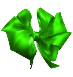 Beautiful silk bow vector