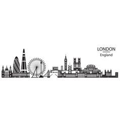 London city skyline 6 vector