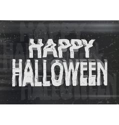 Happy halloween photocopy vector