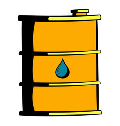 oil barrel icon icon cartoon vector image