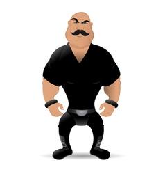 bad guy vector image
