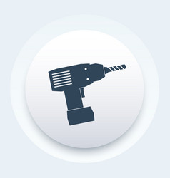 Electric screwdriver icon sign vector