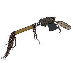Traditional tomahawk vector