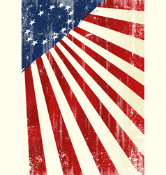 betsy ross flag poster vector image