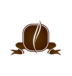 Coffee cafe logo design template vector