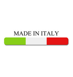 icon made in italy vector image