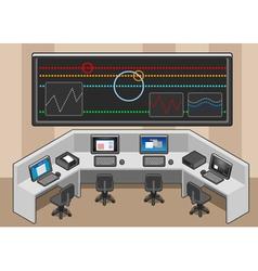 Isometric control center vector