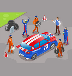 racing sports background vector image