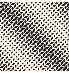 Seamless Black And White Rectangle Diagonal vector image