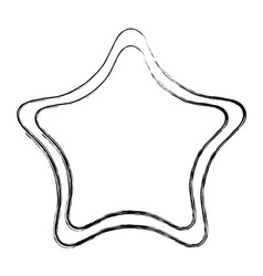 star light isolated icon vector image