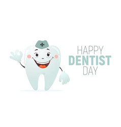 tooth day vector image