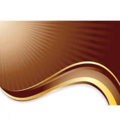 vector chocolate background vector image vector image