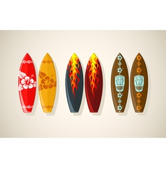 boards vintage vector image