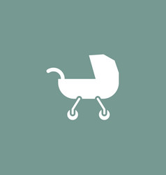 buggy icon simple vector image