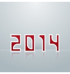 New Year Figures Fifth Option vector image
