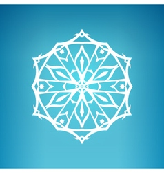 Snowflake Christmas Decoration vector