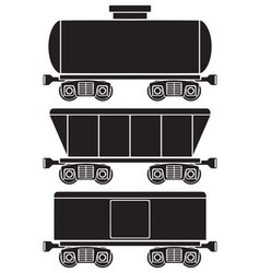 Wagons vector