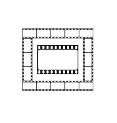 Cinema icon movie theater logo vector image