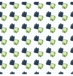seamless pattern of arrows surround-like vector image vector image