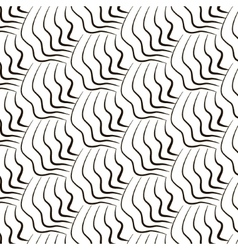 Simple repetition geometric lines pattern vector