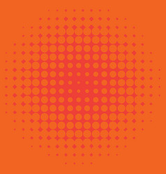 Background template design with orange dots vector