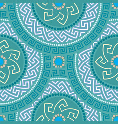 greek seamless ornament vector image