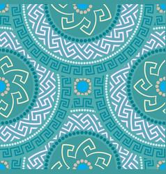 Greek seamless ornament vector