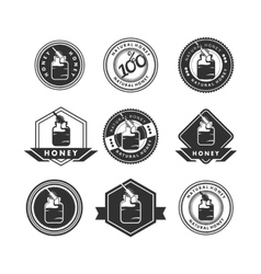 Honey logo vector