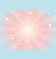 kawaii dreams background vector image