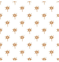 Large drops of caramel pattern vector