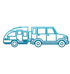 off road sport truck vector image