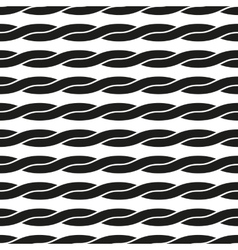 Seamless pattern Interlacing geometric ornament vector
